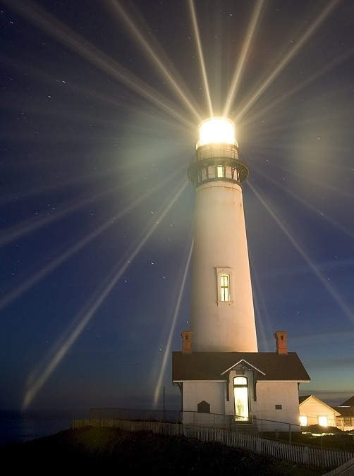 Do you want to be a LIGHTHOUSE or a DARK ALLEY?
